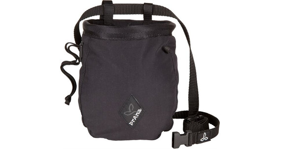 Prana Solid Chalk Bag with Belt Black